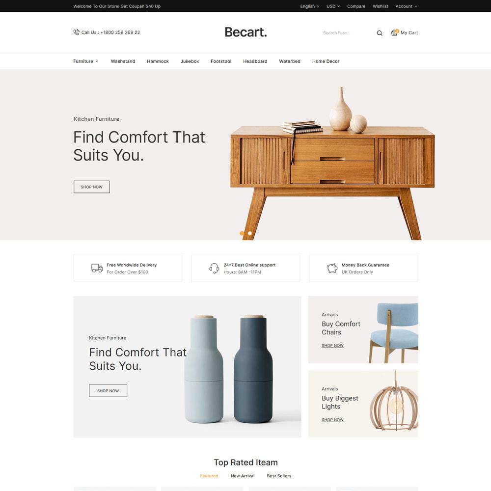 theme - Moda y Calzado - Becart Fashion Store - 3