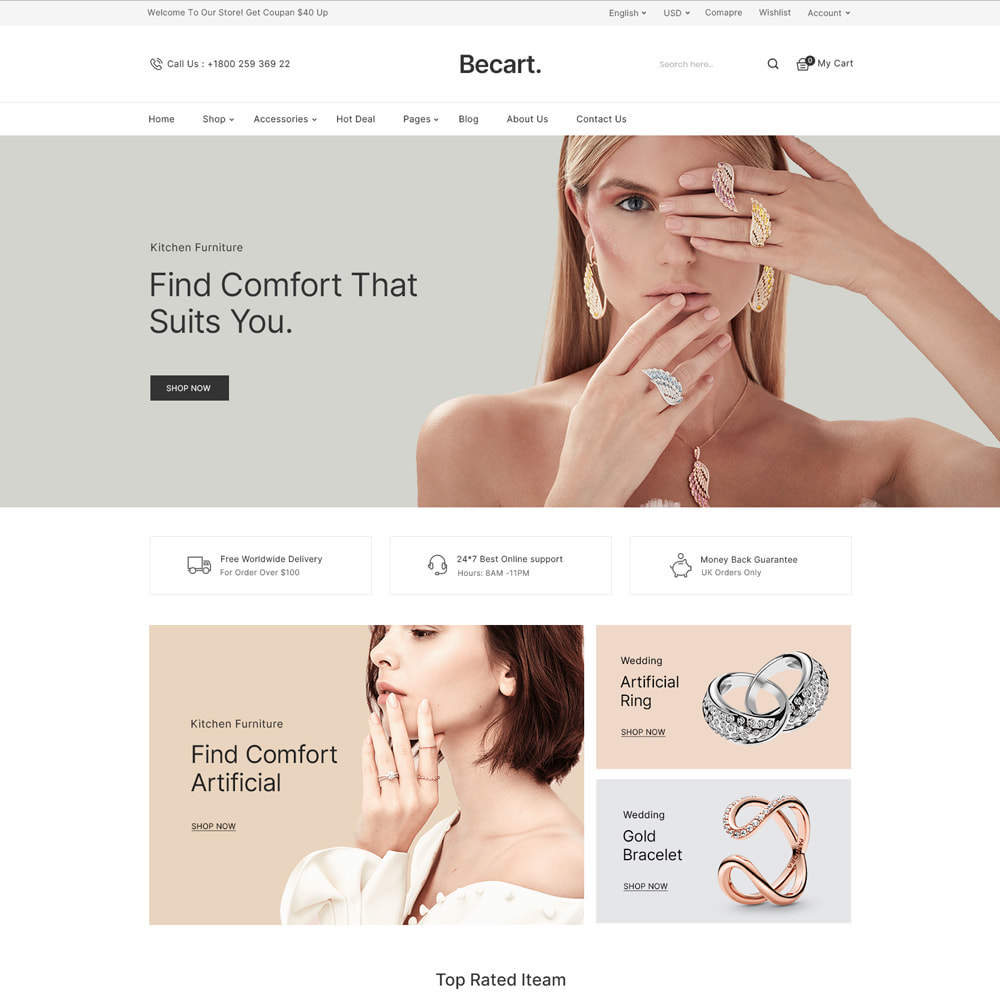 theme - Moda y Calzado - Becart Fashion Store - 5