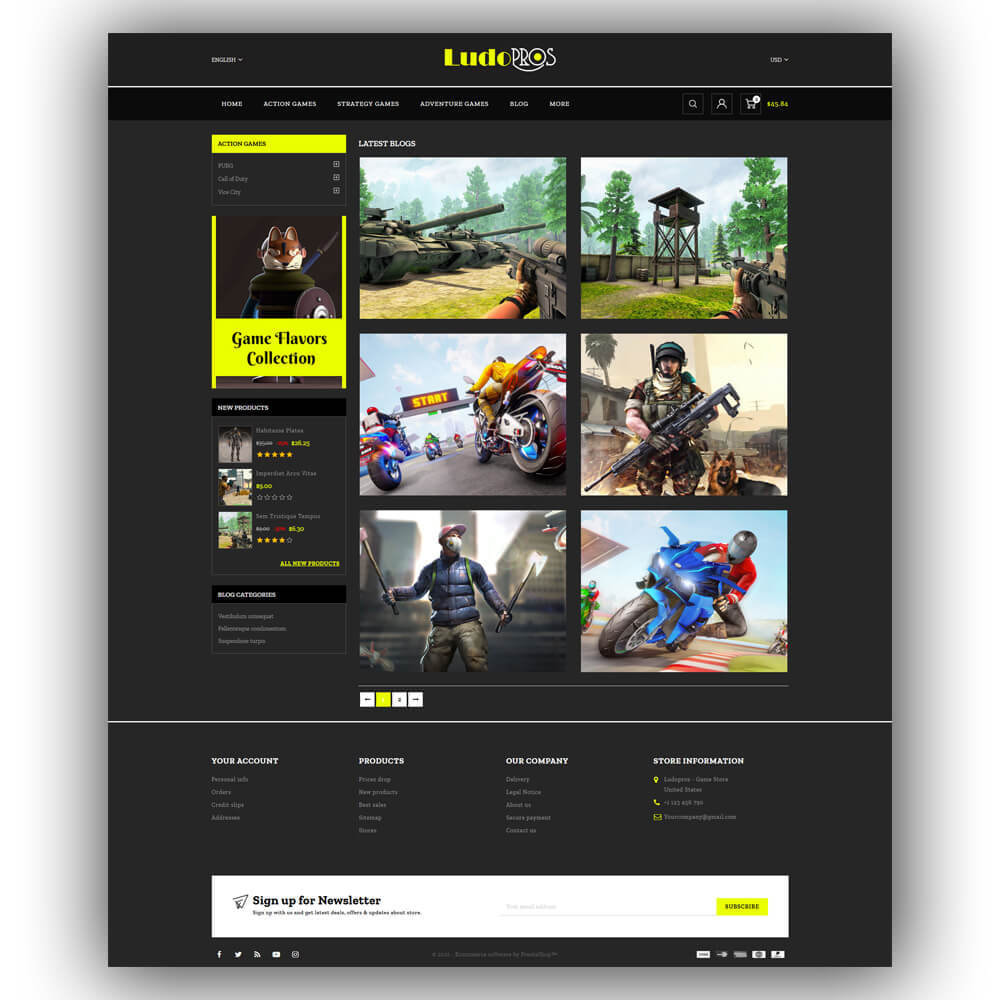 theme - Sports, Activities & Travel - Ludopros - Game Store - 8