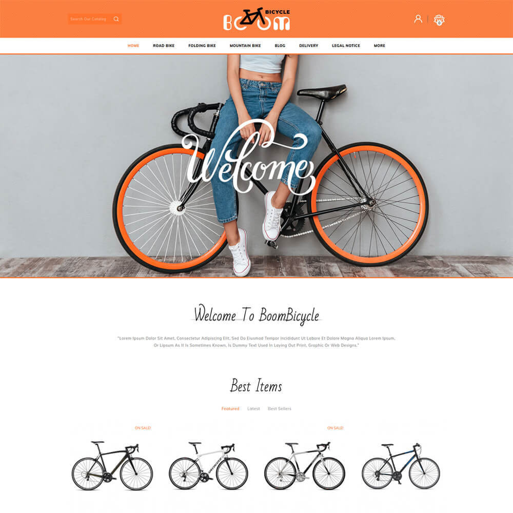 theme - Sport, Loisirs & Voyage - Boombiycle - Biycycle Store - 2