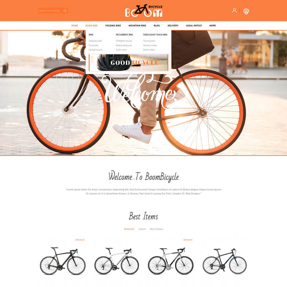 theme - Sport, Loisirs & Voyage - Boombiycle - Biycycle Store - 3