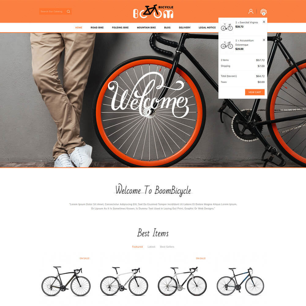 theme - Sport, Loisirs & Voyage - Boombiycle - Biycycle Store - 4