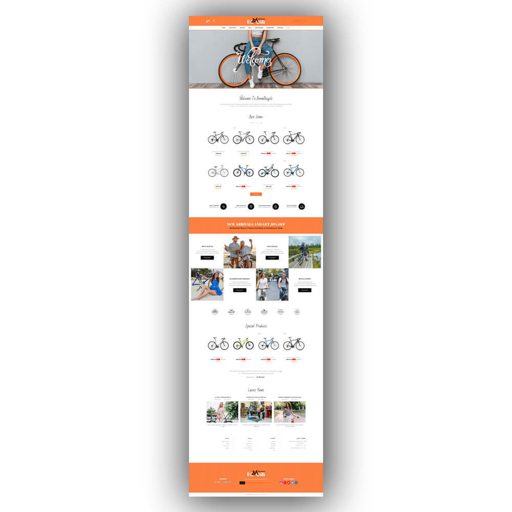 theme - Sport, Loisirs & Voyage - Boombiycle - Biycycle Store - 9