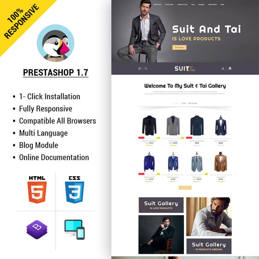 theme - Fashion & Shoes - Suittai - Suit Store - 1