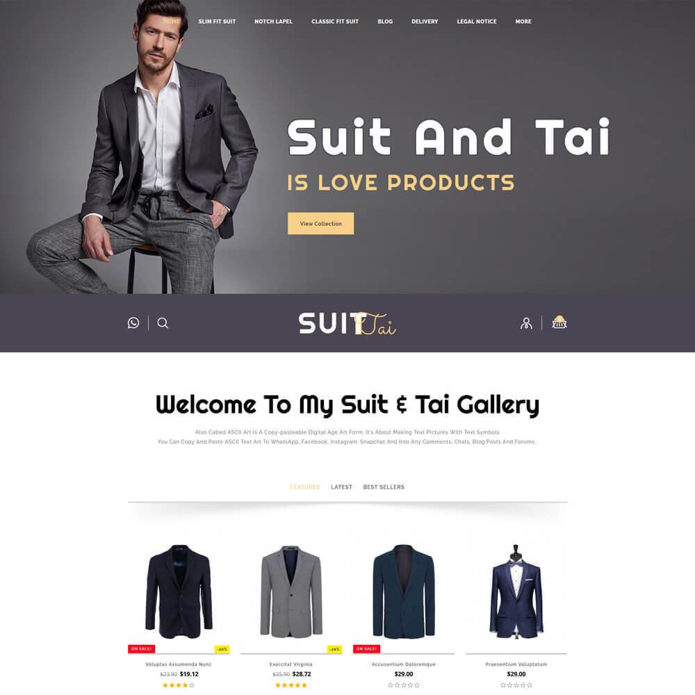 theme - Fashion & Shoes - Suittai - Suit Store - 2