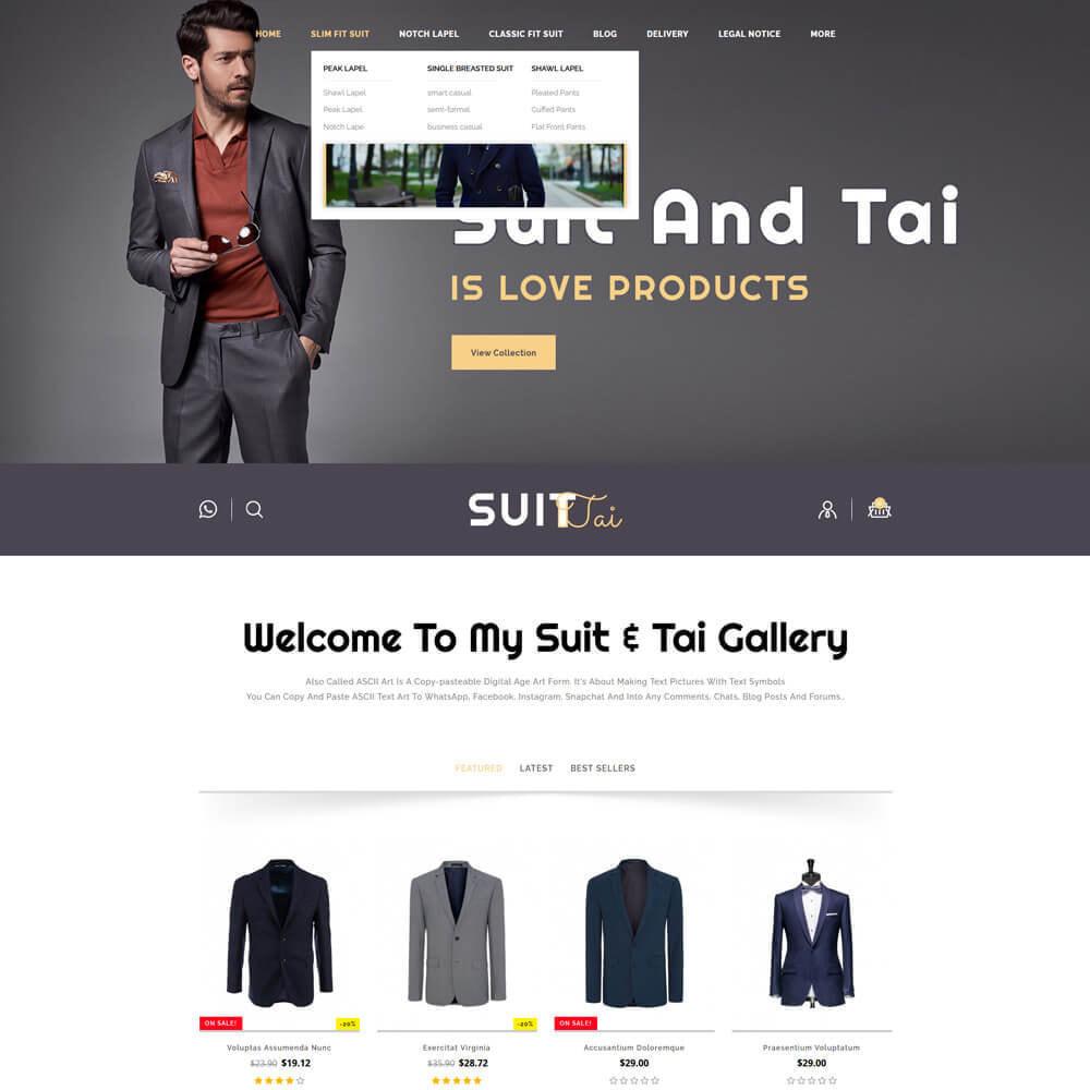 theme - Fashion & Shoes - Suittai - Suit Store - 3