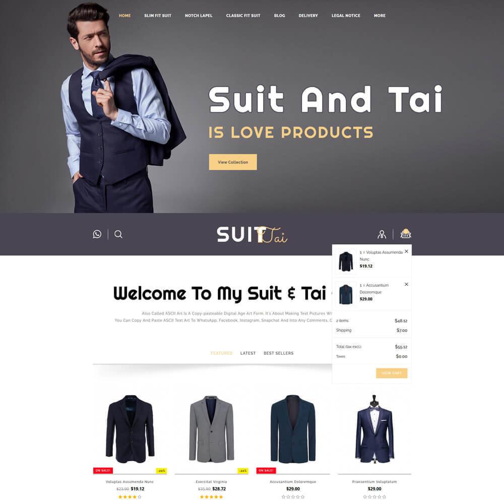 theme - Fashion & Shoes - Suittai - Suit Store - 4