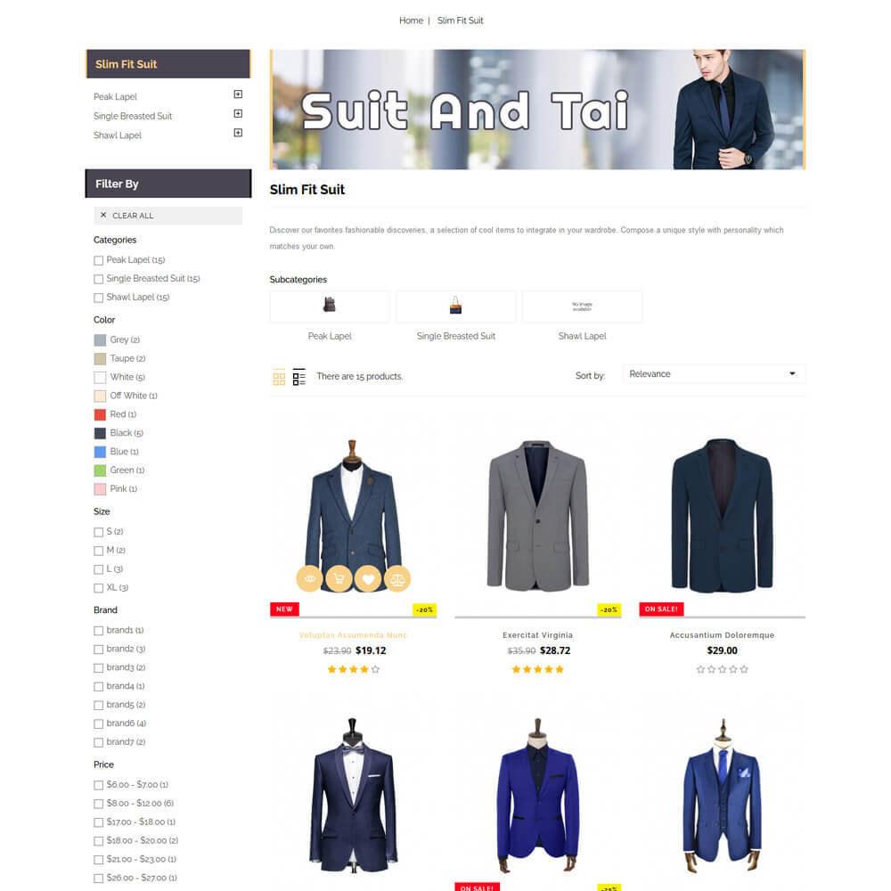 theme - Fashion & Shoes - Suittai - Suit Store - 5