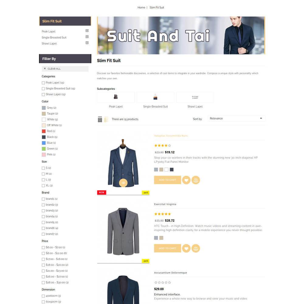 theme - Fashion & Shoes - Suittai - Suit Store - 6
