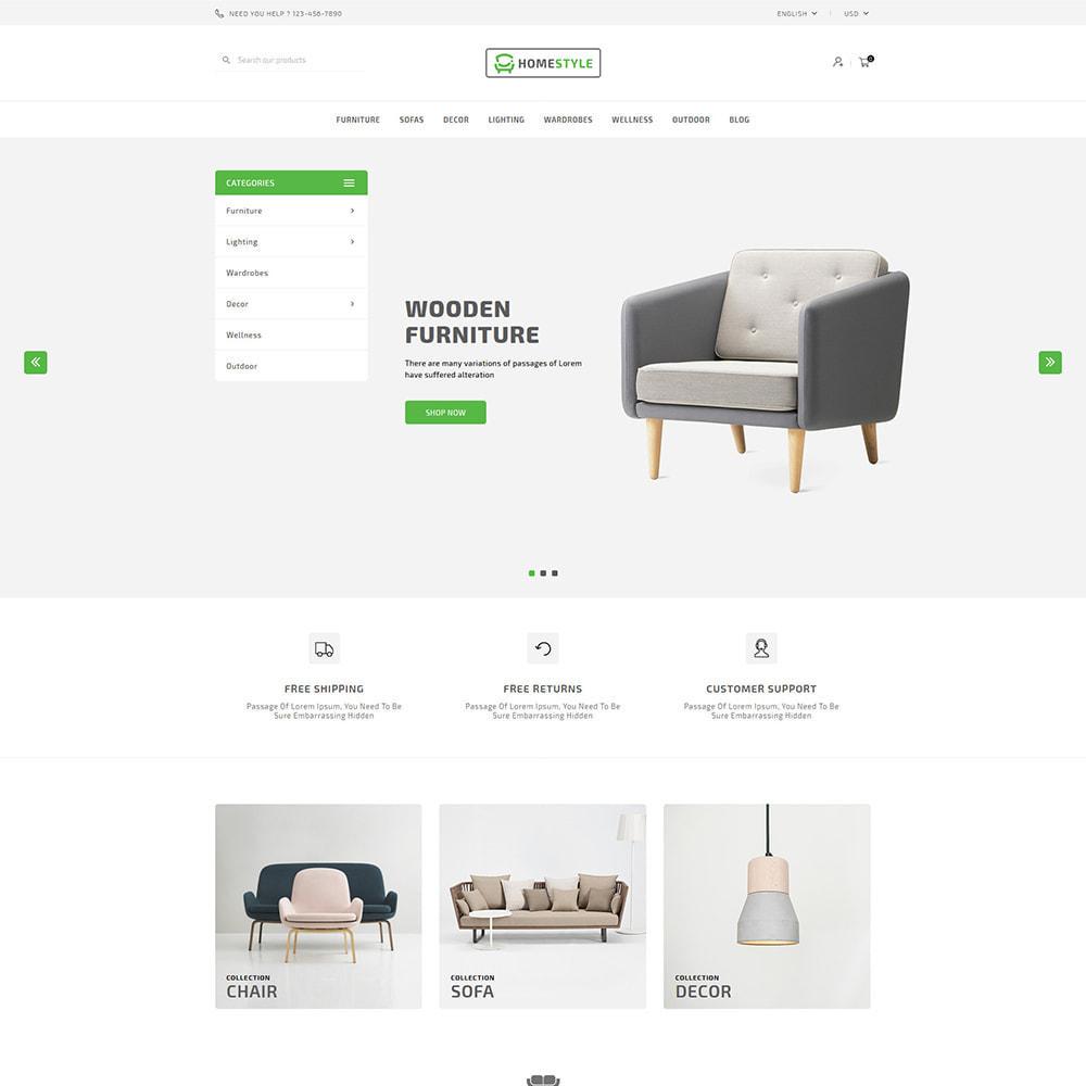 theme - Home & Garden - Homestyle Online Furniture Store - 2