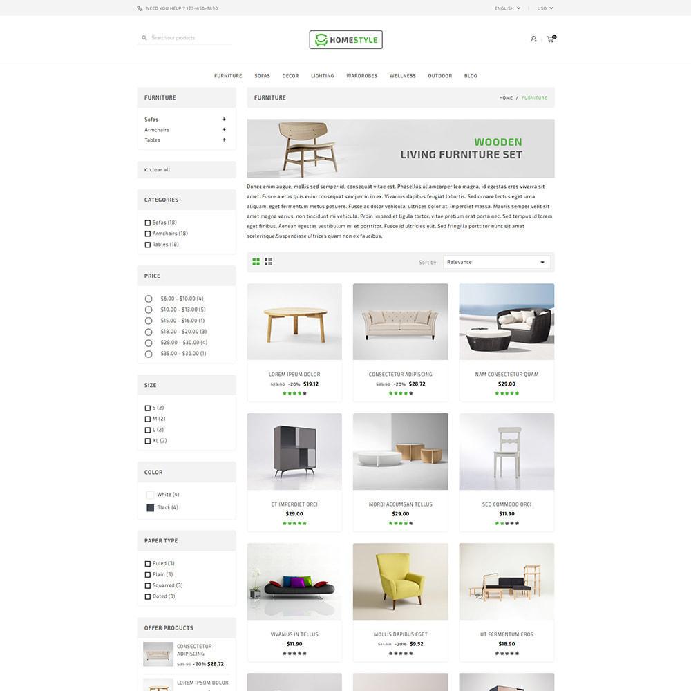 theme - Home & Garden - Homestyle Online Furniture Store - 3
