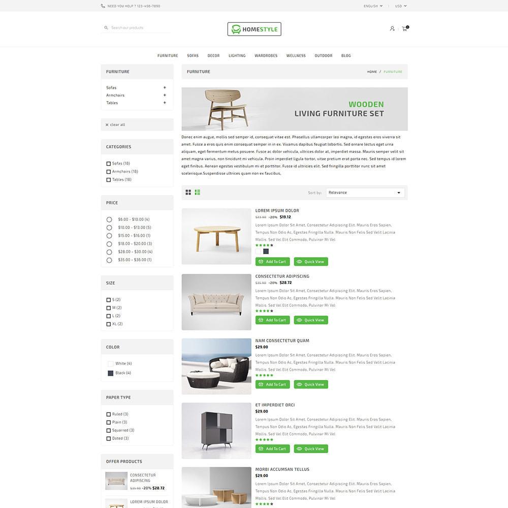 theme - Home & Garden - Homestyle Online Furniture Store - 4