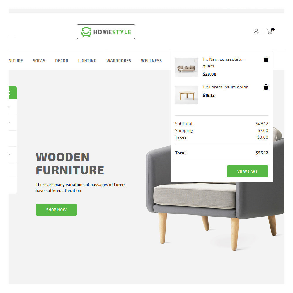 theme - Home & Garden - Homestyle Online Furniture Store - 7