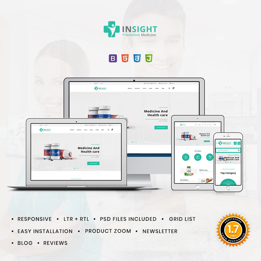 theme - Health & Beauty - Insight Online Medical Store - 1