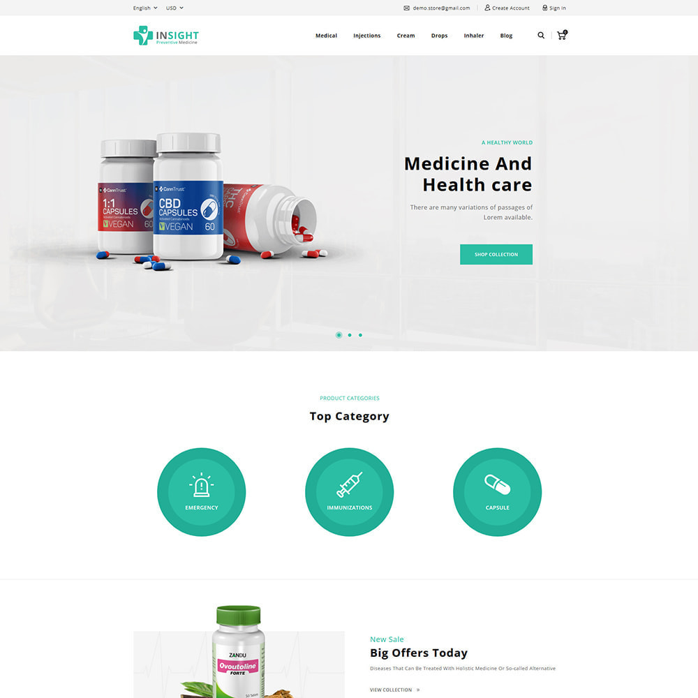 theme - Health & Beauty - Insight Online Medical Store - 2