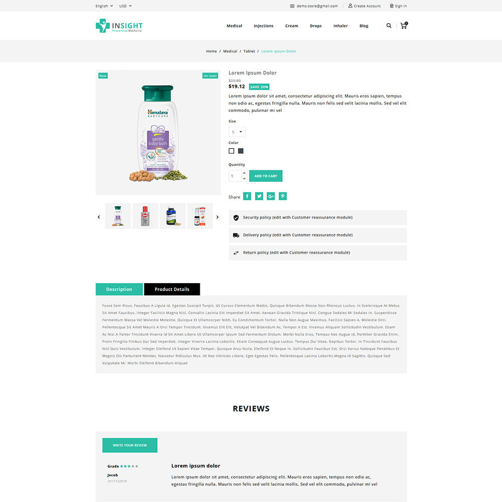 theme - Health & Beauty - Insight Online Medical Store - 5