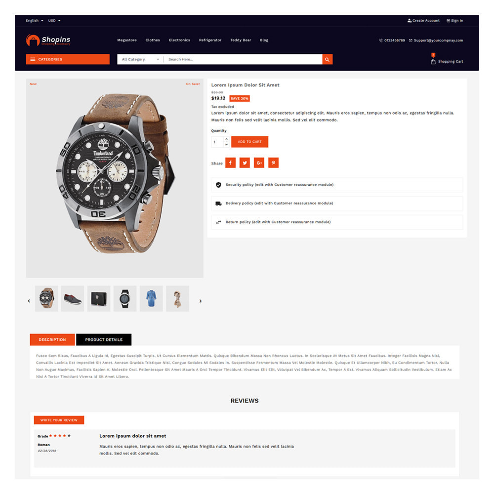 theme - Fashion & Shoes - Shopins Online Mega Store - 5