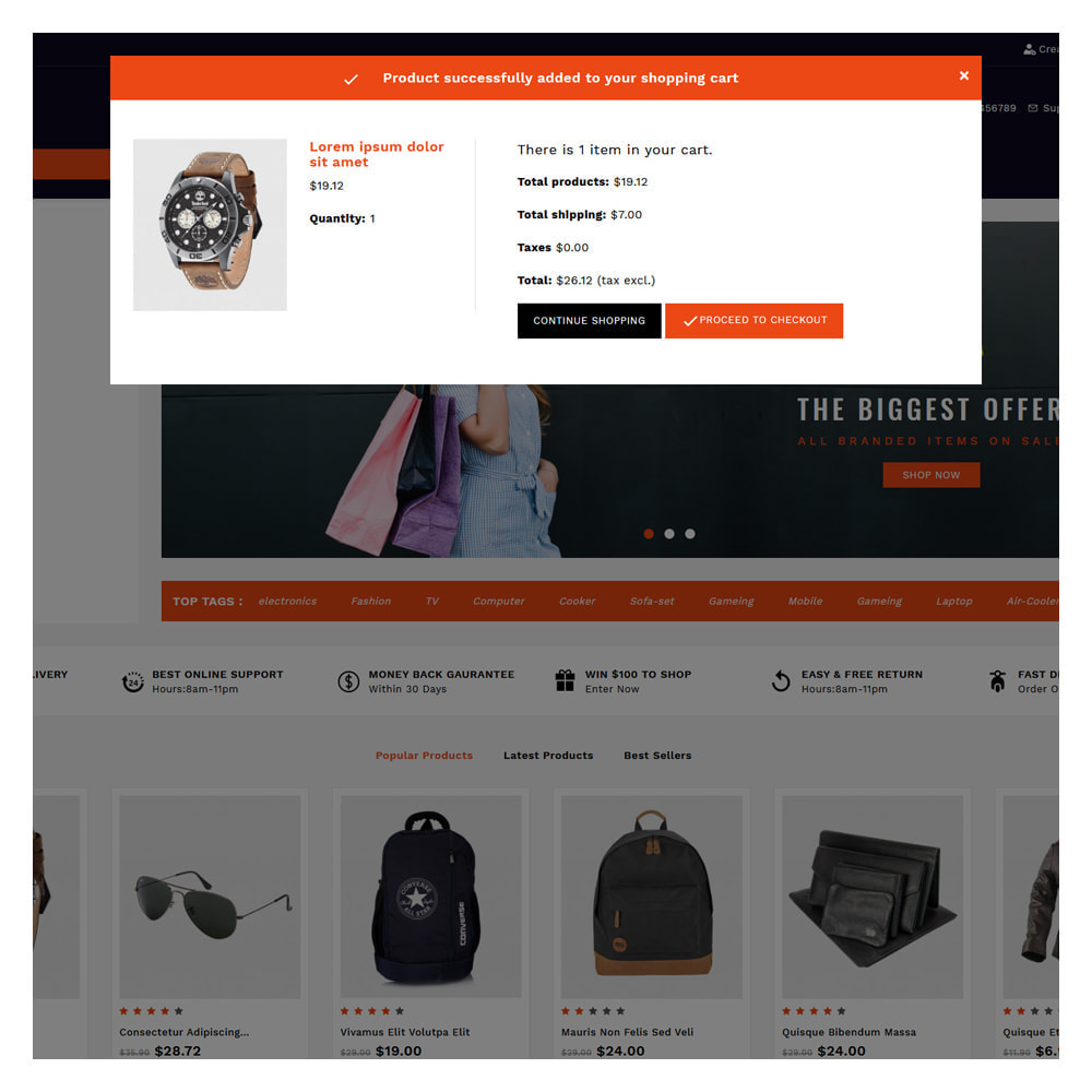 theme - Fashion & Shoes - Shopins Online Mega Store - 6