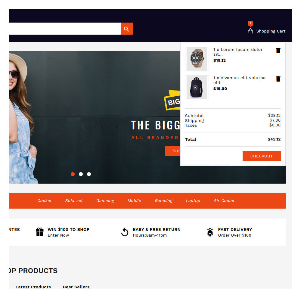 theme - Fashion & Shoes - Shopins Online Mega Store - 7