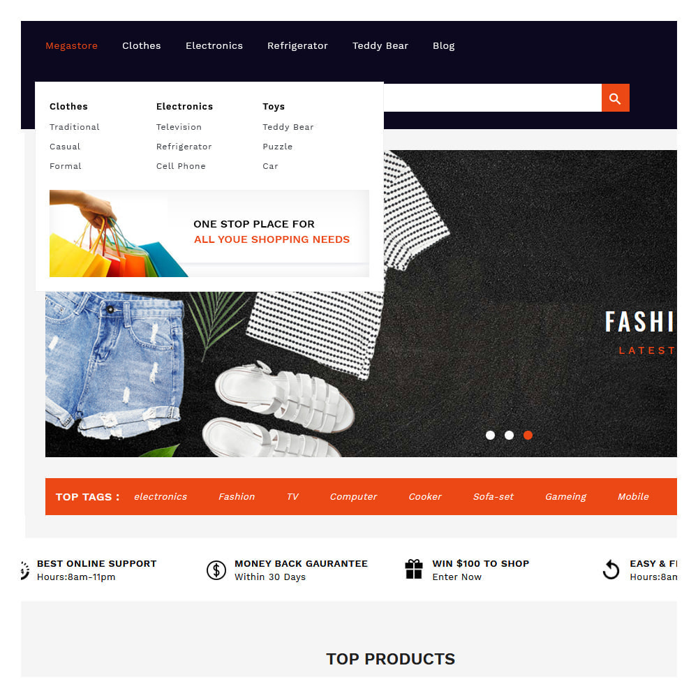 theme - Fashion & Shoes - Shopins Online Mega Store - 8