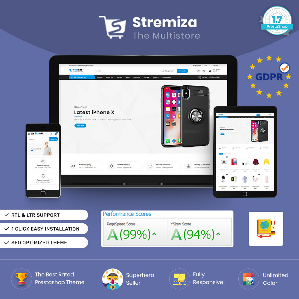 theme - Electronics & Computers - Stremiza - Digital Mega Store - 1