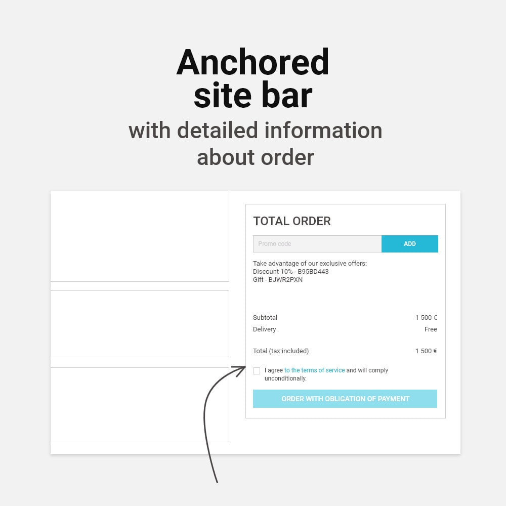 module - Express Checkout Process - Light checkout & Buy now - 9