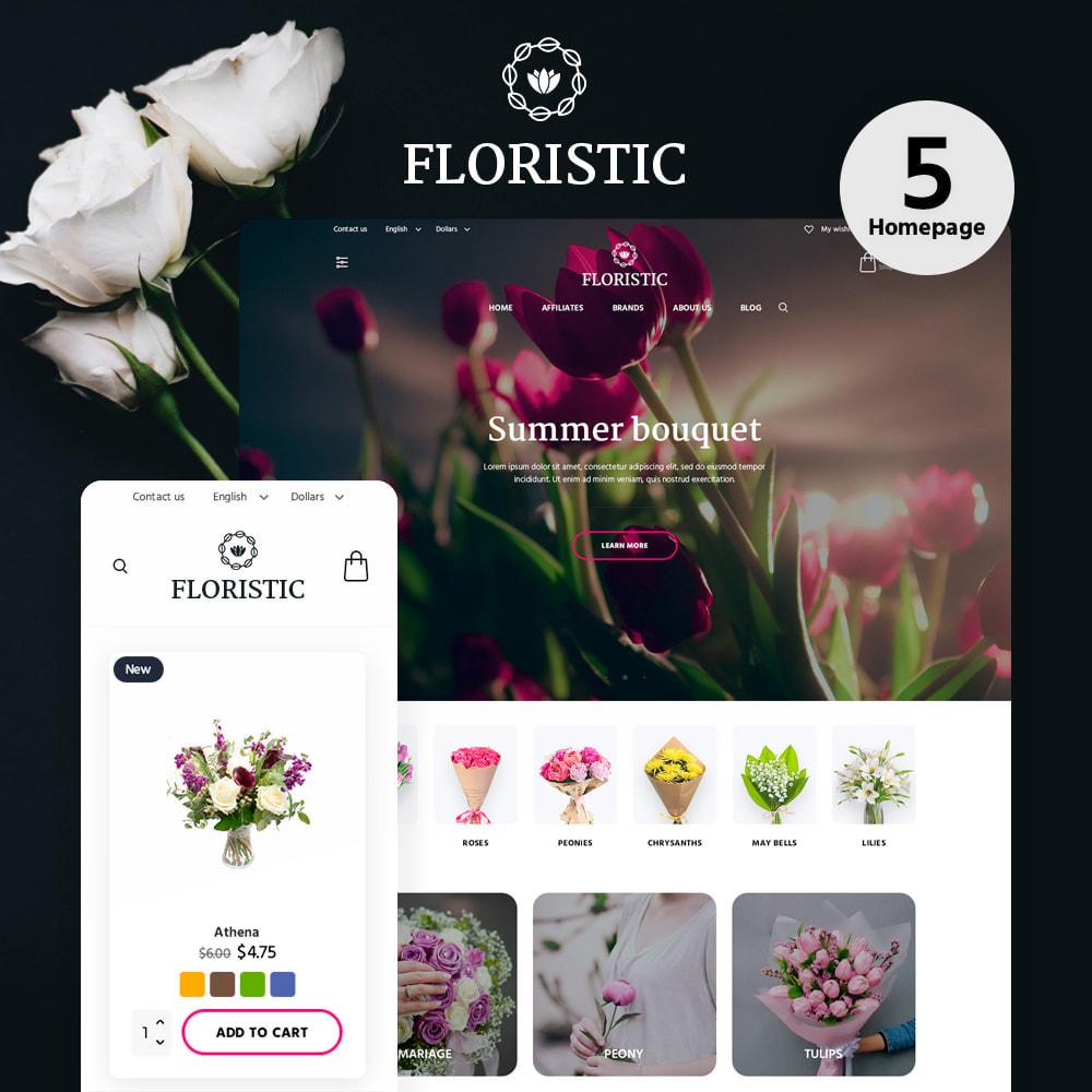 theme - Cadeaux, Fleurs et Fêtes - Floristic - 1