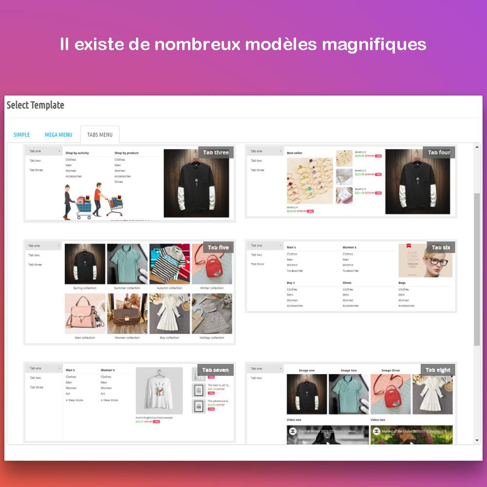 module - Menu - Smart Menu Builder - Design Drag/Drop Easier - 3