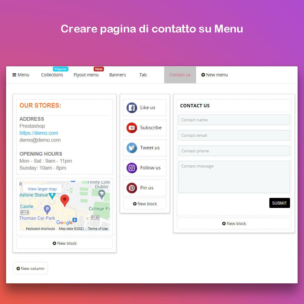module - Menu - Smart Menu Builder - Design Drag/Drop Easier - 9