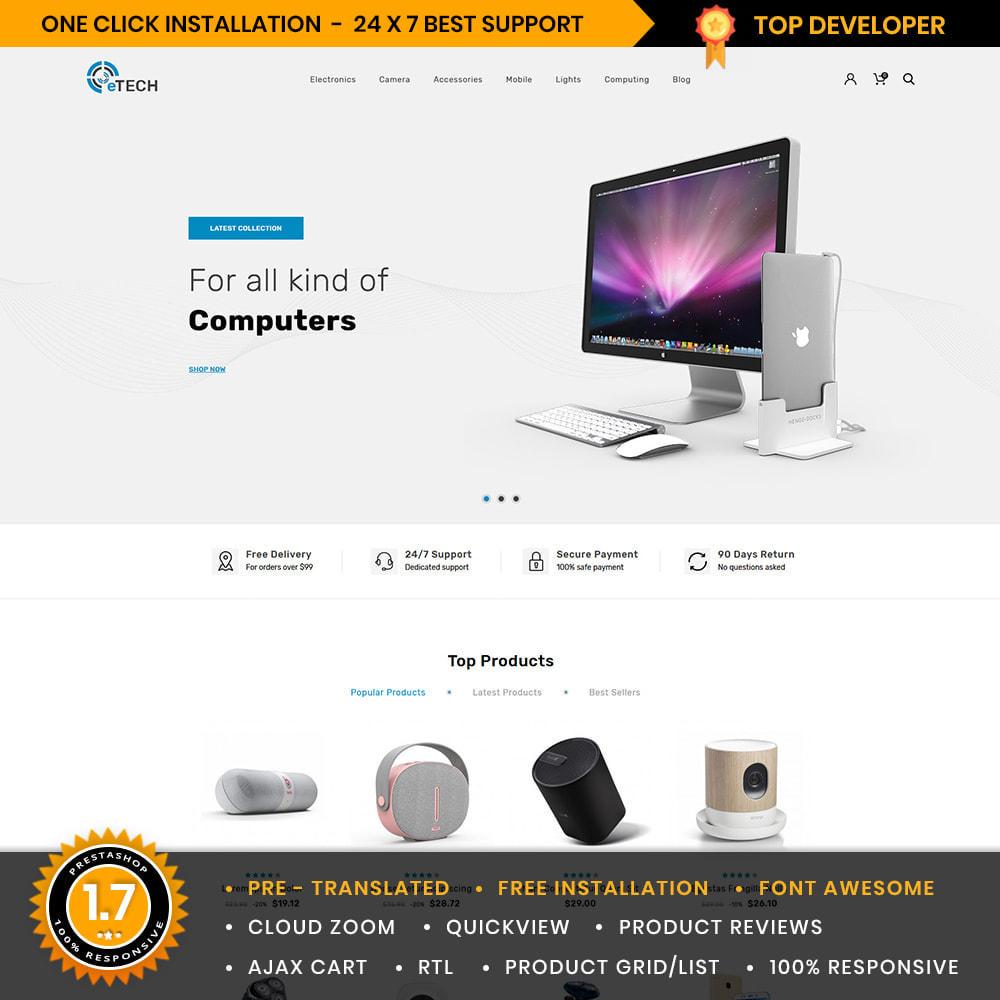 theme - Electronics & Computers - eTech Electronic Store - 1