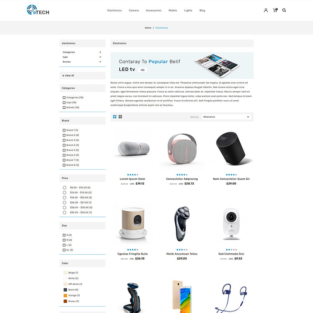 theme - Electronics & Computers - eTech Electronic Store - 4