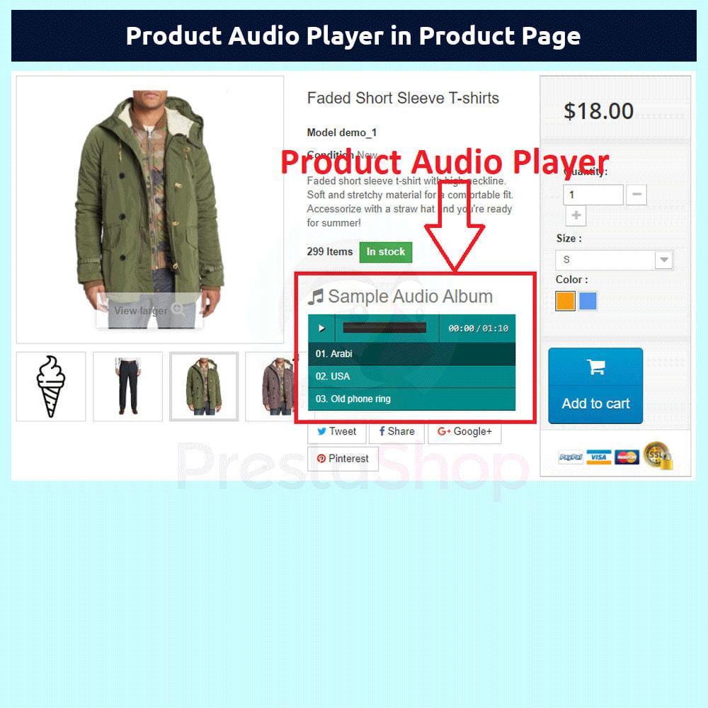 module - Vídeos y Música - Product Audio Player - 4