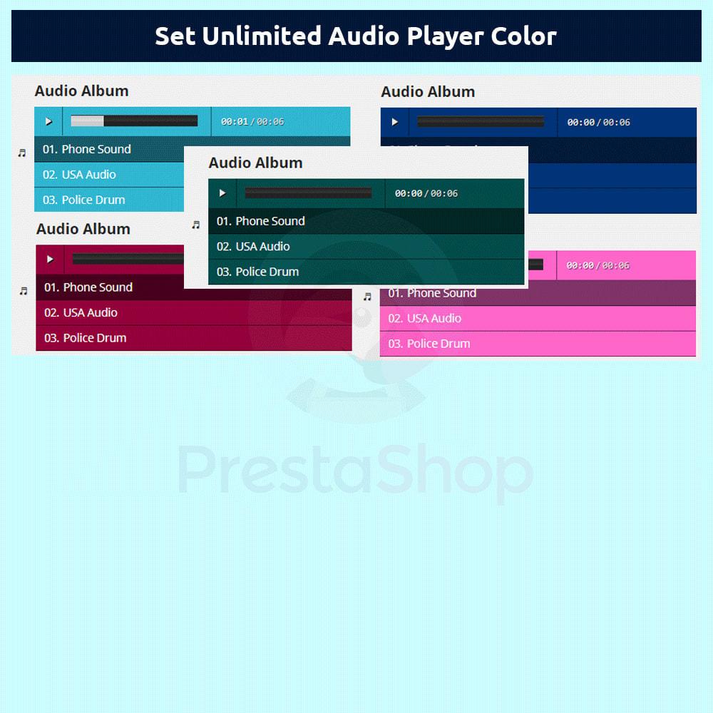 module - Vídeos y Música - Product Audio Player - 6