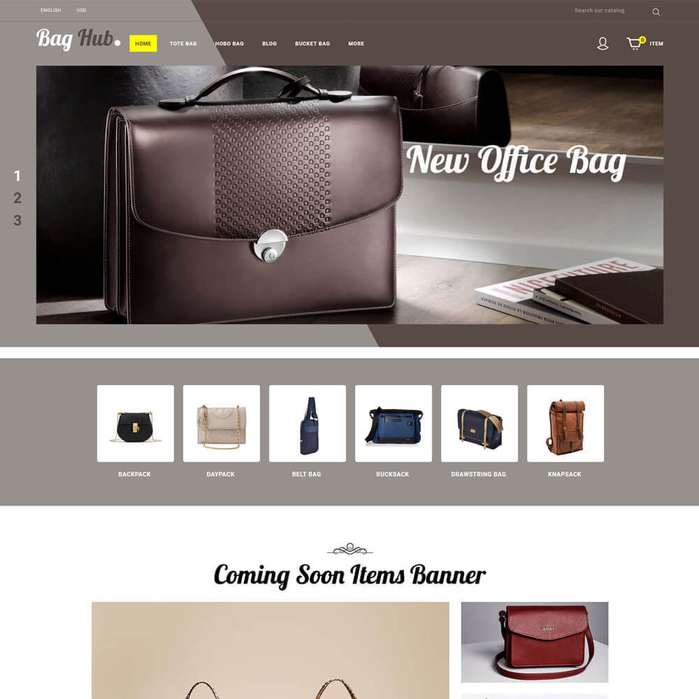 theme - Jewelry & Accessories - Baghub - Bag Store - 2