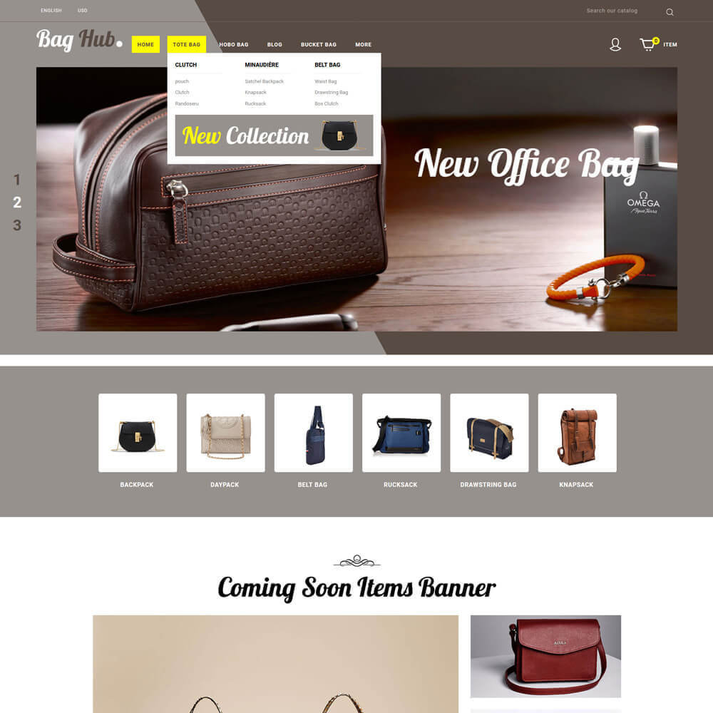theme - Jewelry & Accessories - Baghub - Bag Store - 3