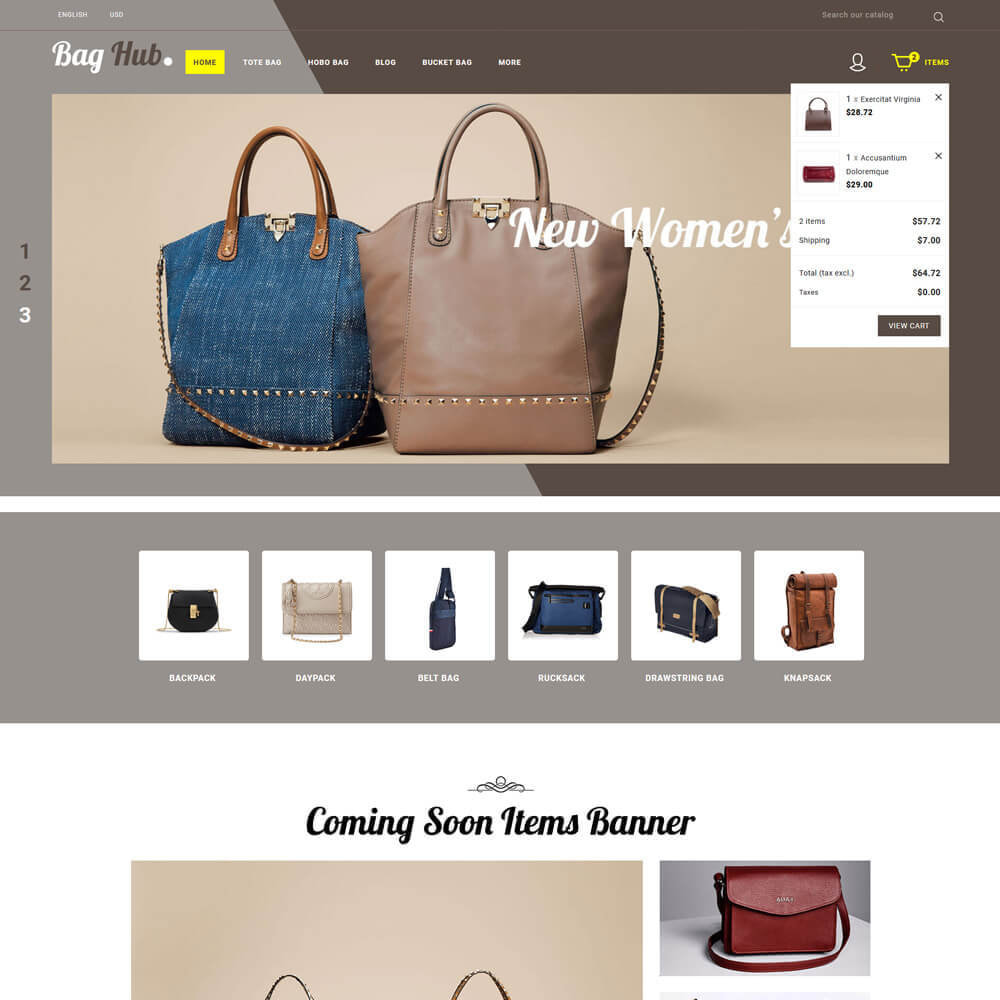 theme - Jewelry & Accessories - Baghub - Bag Store - 4
