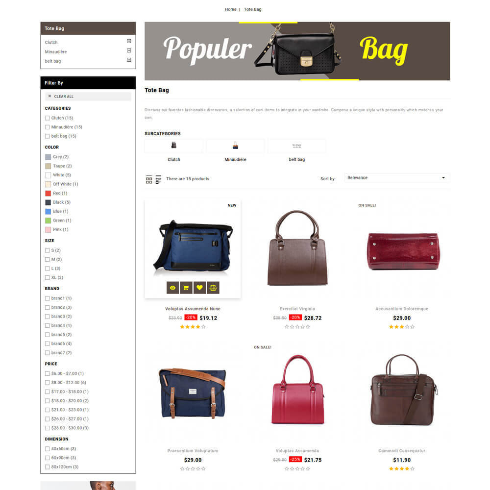 theme - Jewelry & Accessories - Baghub - Bag Store - 5
