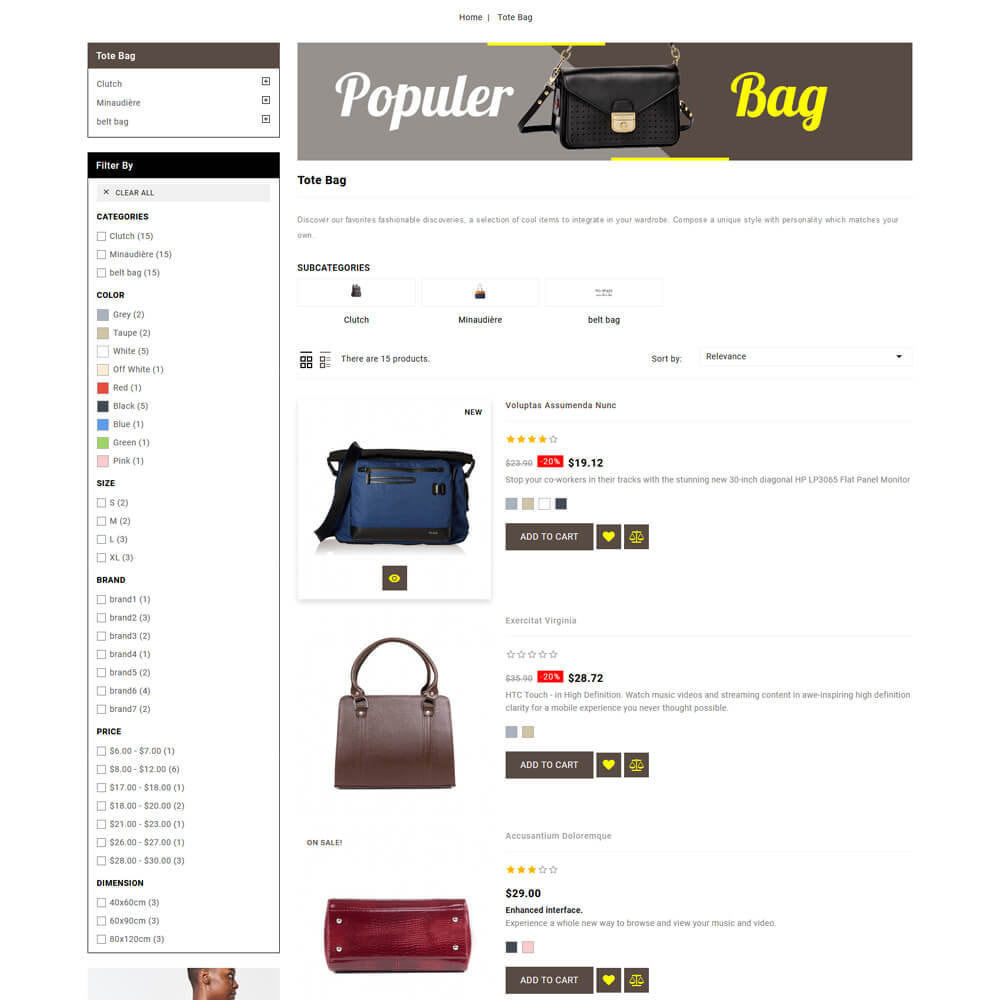 theme - Jewelry & Accessories - Baghub - Bag Store - 6