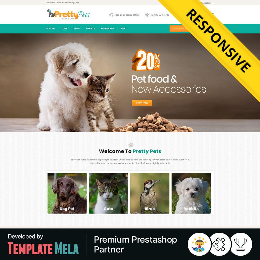 theme - Zwierzęta - Pretty - Pets & Animals Store - 1