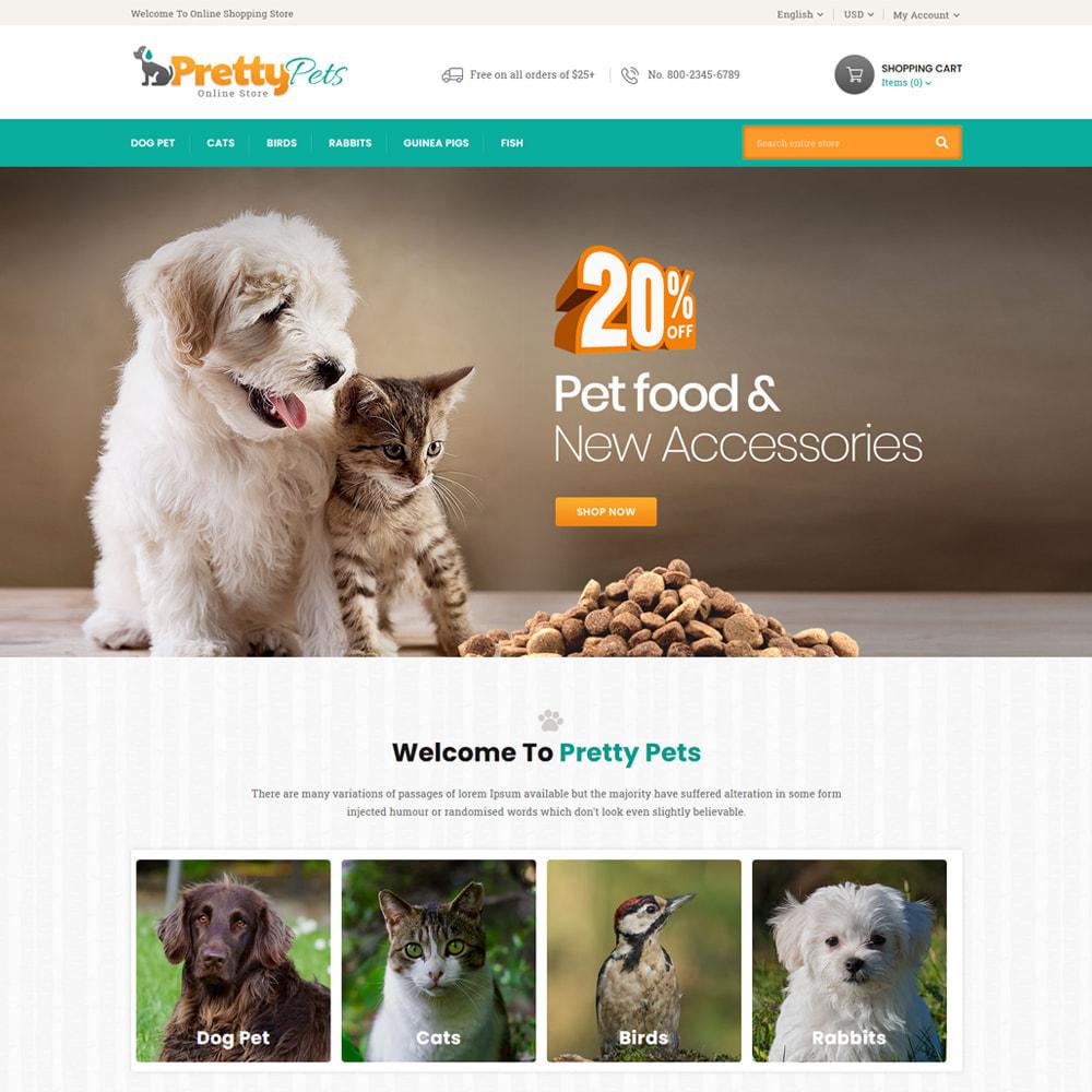 theme - Zwierzęta - Pretty - Pets & Animals Store - 2