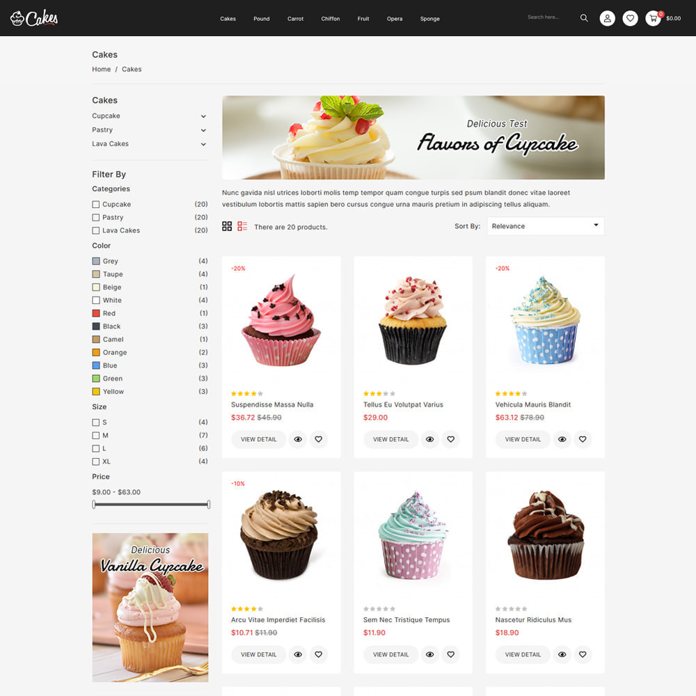 theme - Eten & Restaurant - Cakes - Cake & Chocolate Store - 3
