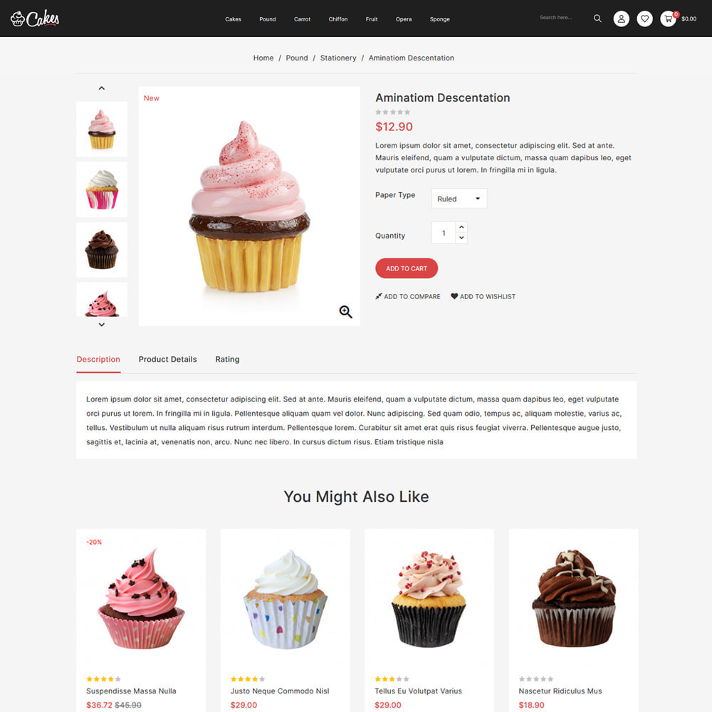 theme - Eten & Restaurant - Cakes - Cake & Chocolate Store - 4