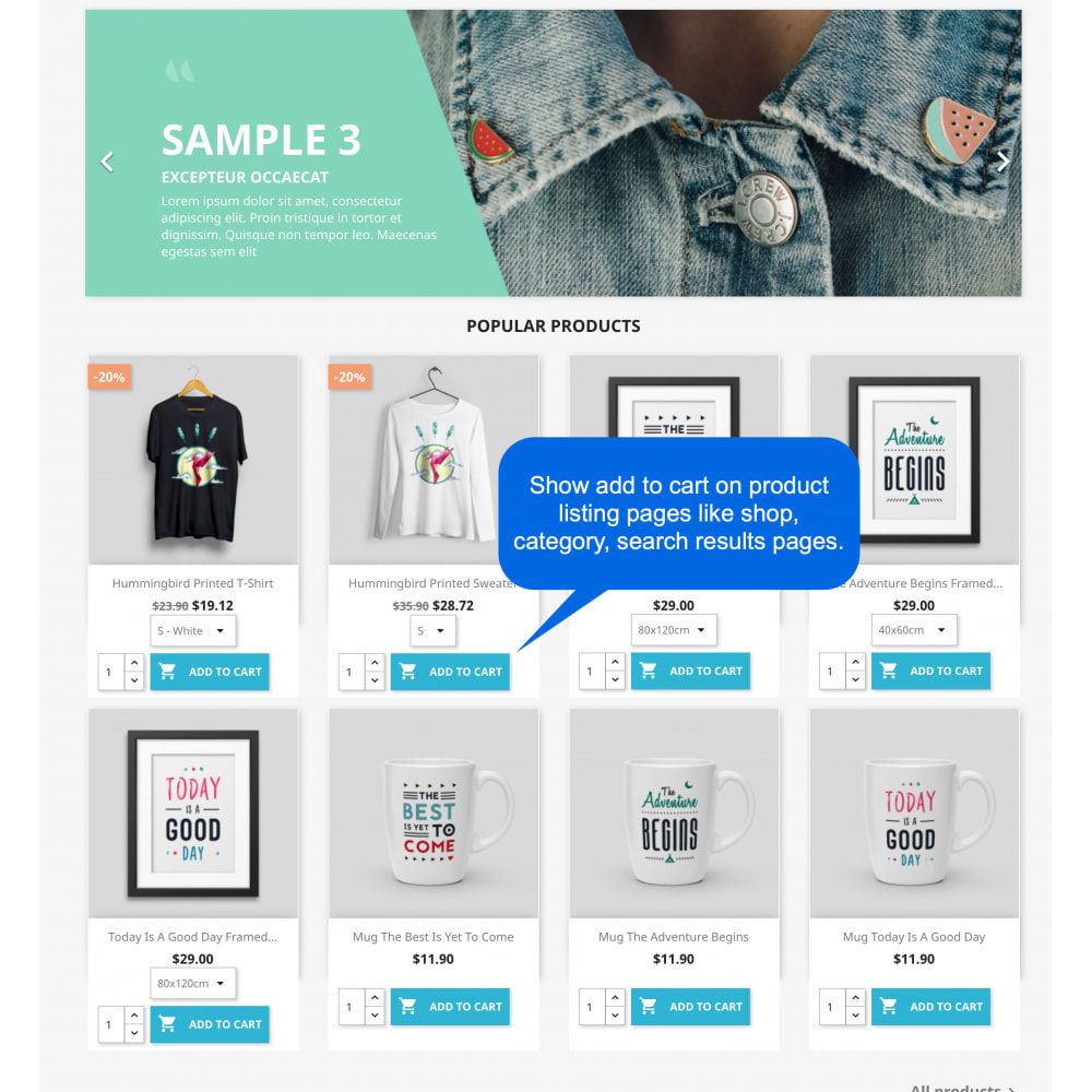 module - Registration & Ordering Process - Show Add to Cart on List Pages (Shop, Category, Search) - 2