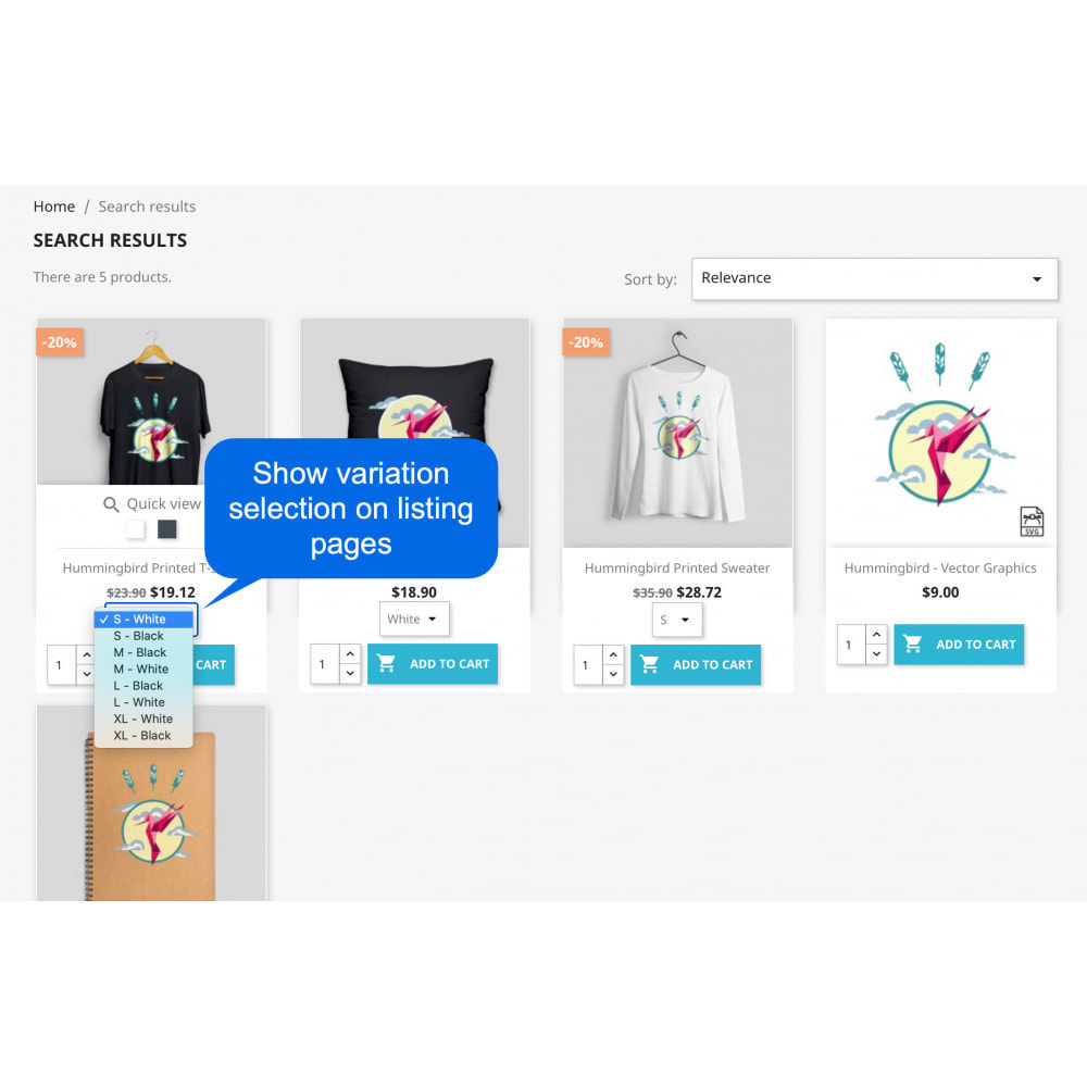 module - Registration & Ordering Process - Show Add to Cart on List Pages (Shop, Category, Search) - 3