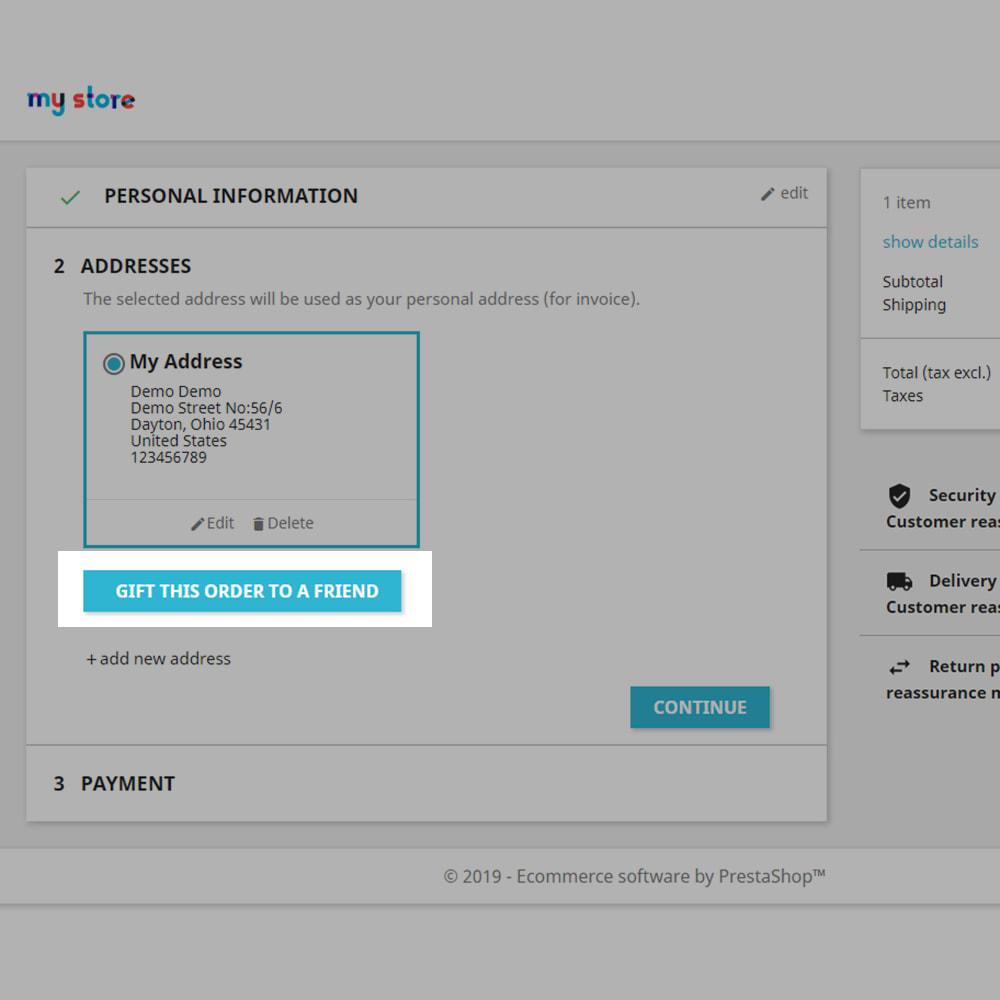 module - Productos Digitales (de descarga) - Send the Virtual File to a Friend as a Gift - 3