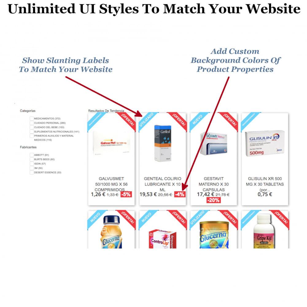 module - Zoeken & Filteren - Instant Search & Filters - 2
