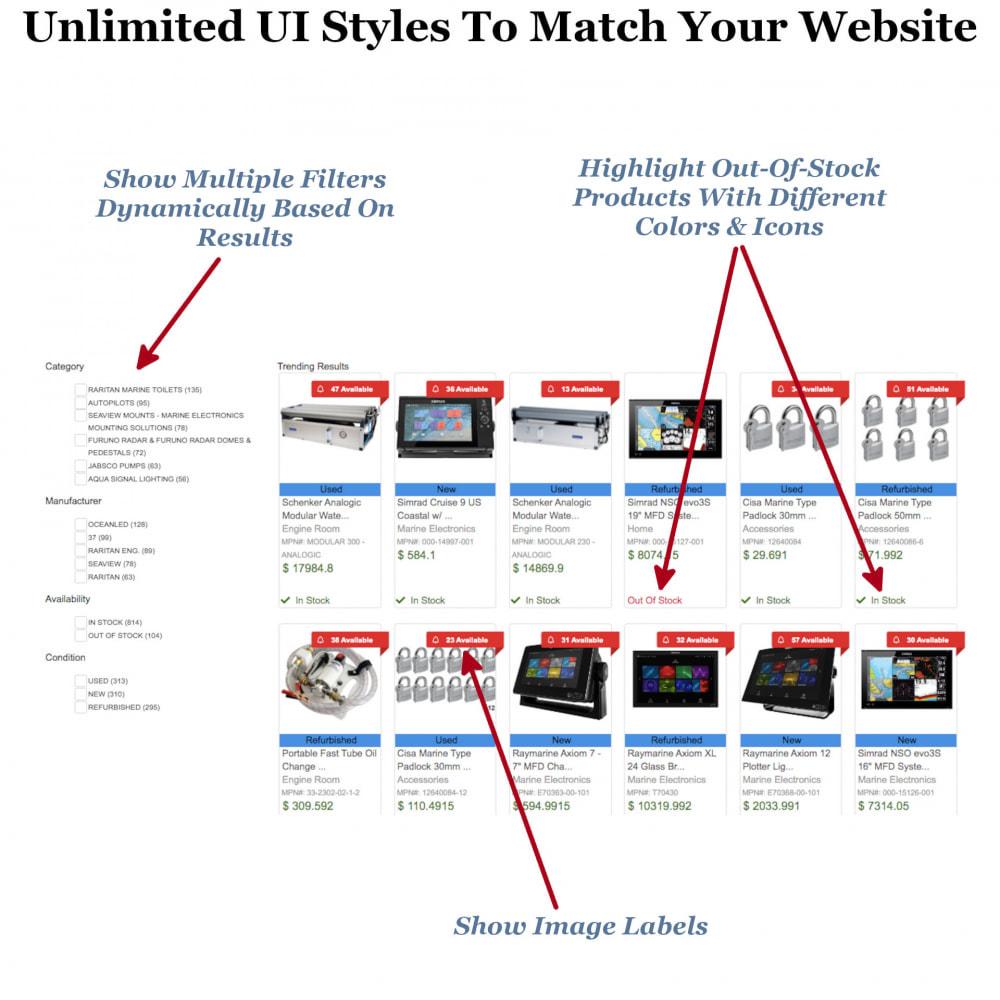 module - Zoeken & Filteren - Instant Search & Filters - 4
