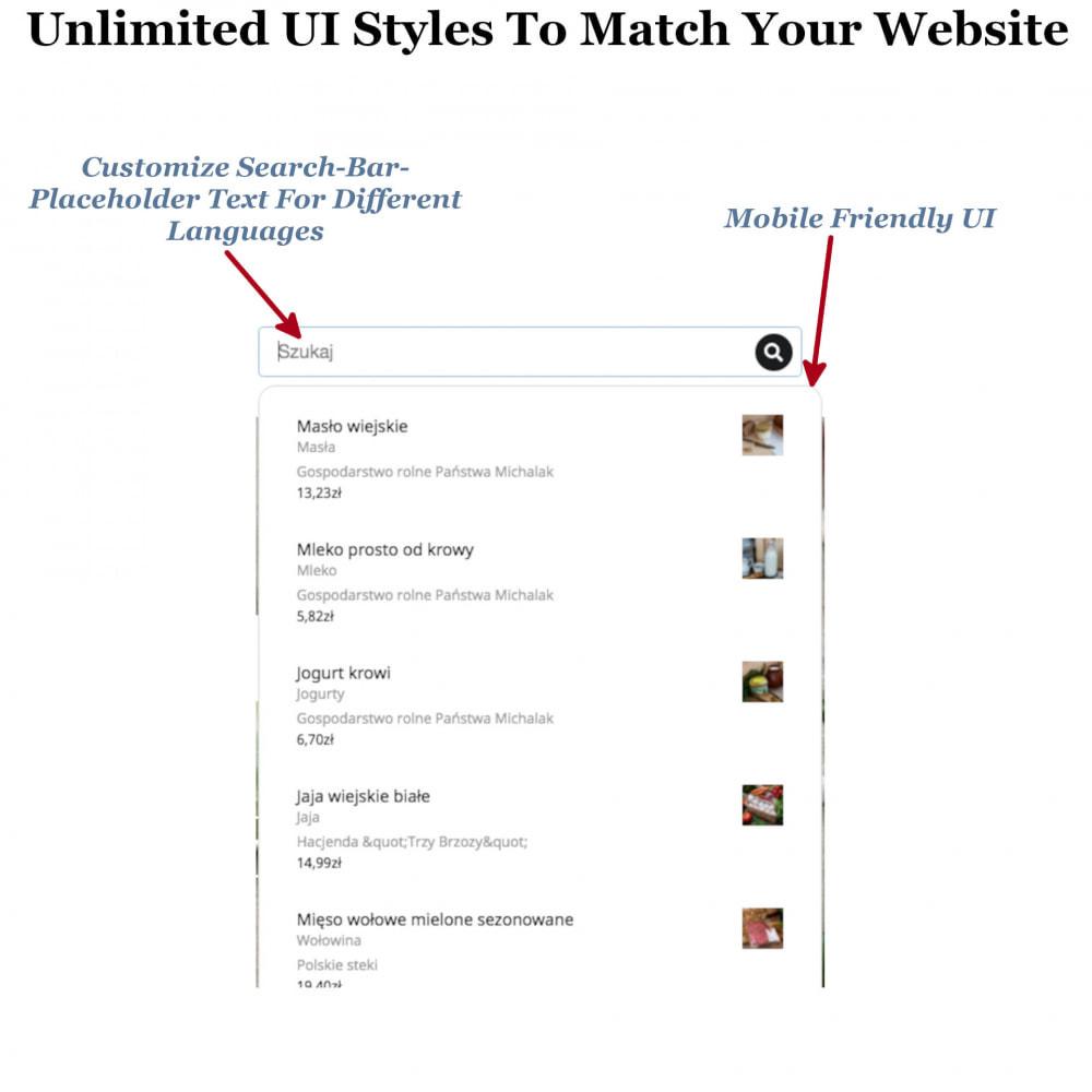 module - Zoeken & Filteren - Instant Search & Filters - 5