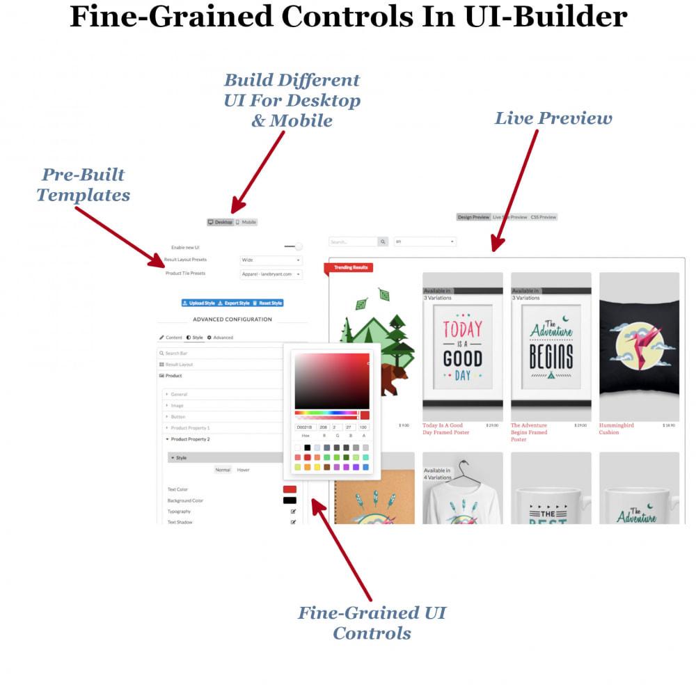 module - Zoeken & Filteren - Instant Search & Filters - 8
