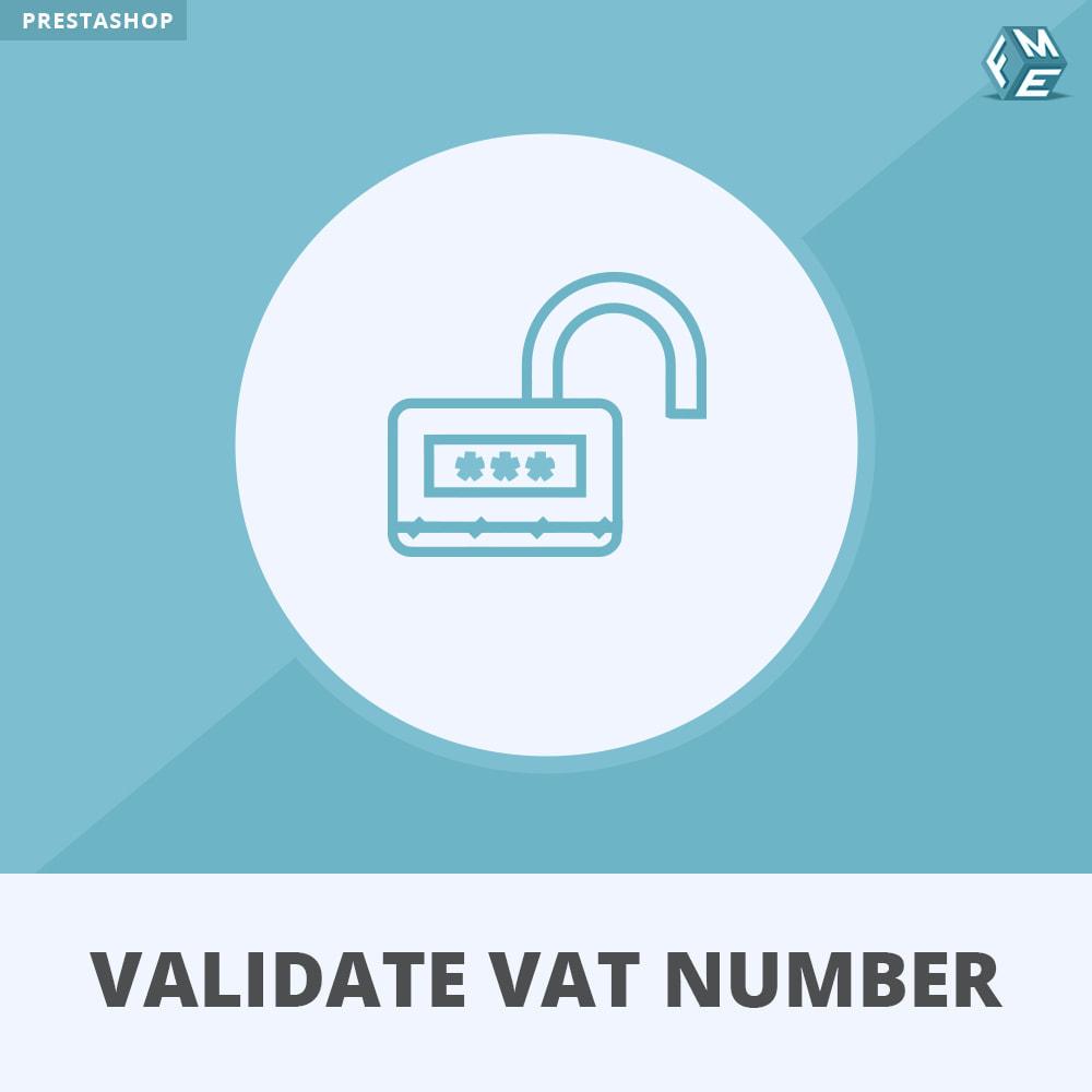 module - Procedury składania zamówień - Validate VAT Number and Assign to Customer Group - 1